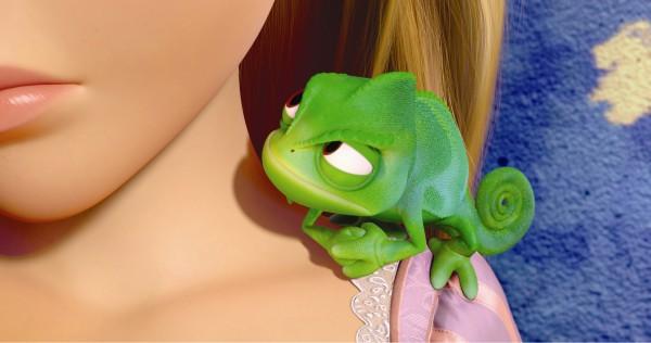 值得一看的一不戏!!!《Rapunzel: A Tangled Tale》 Tangled_movie_image_chameleon_01-600x316