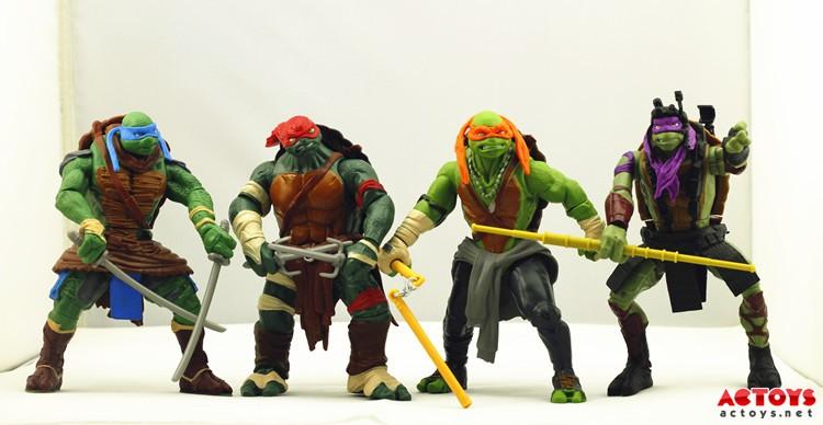 teenage mutant ninja turtles movie toys images 1 Bom tấn manga mới – Ninja Rùa
