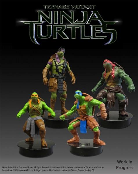 teenage-mutant-ninja-turtles-Theater Cup Minifigs