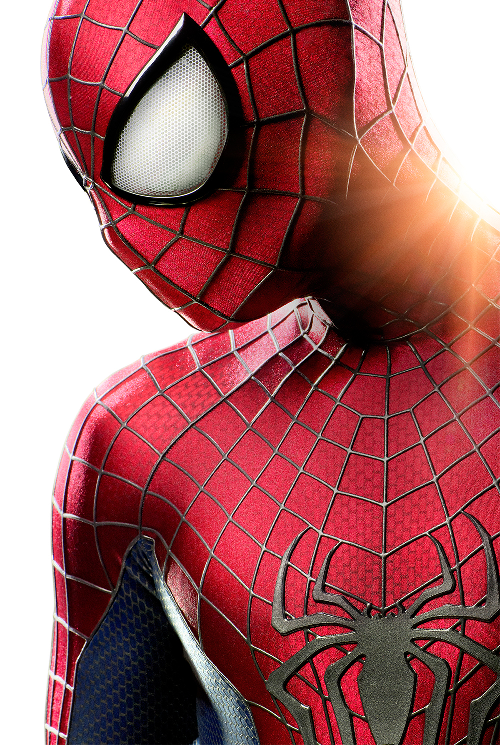 The amazing spider man costume poster
