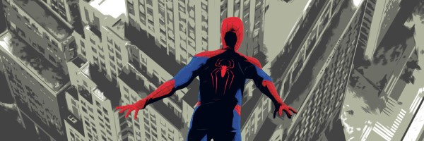 the amazing spider man 2 imax poster slice