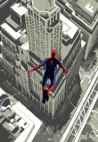 the amazing spider man 2 imax poster