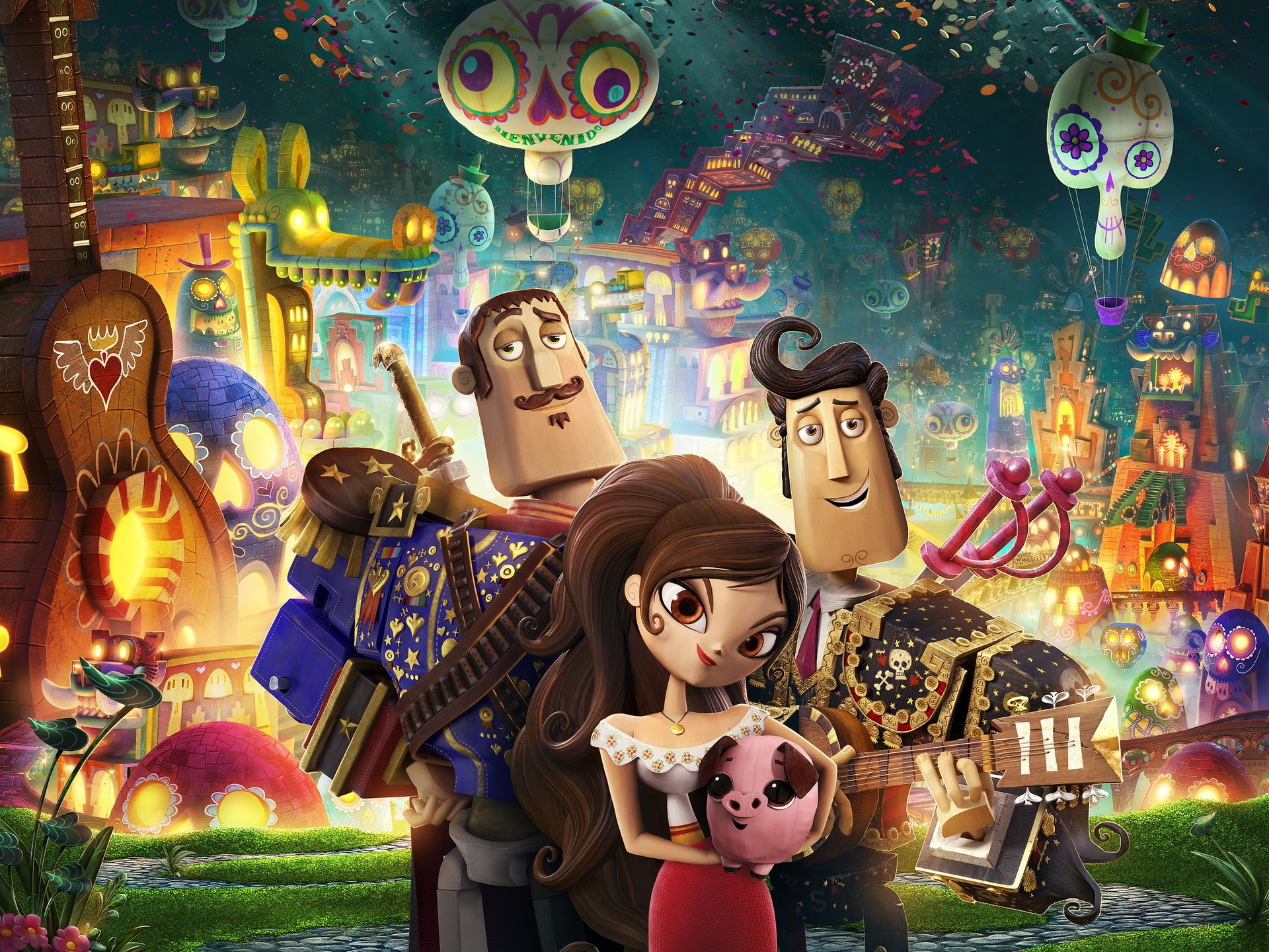 The Book of Life .:MOVIE REVIEW:.