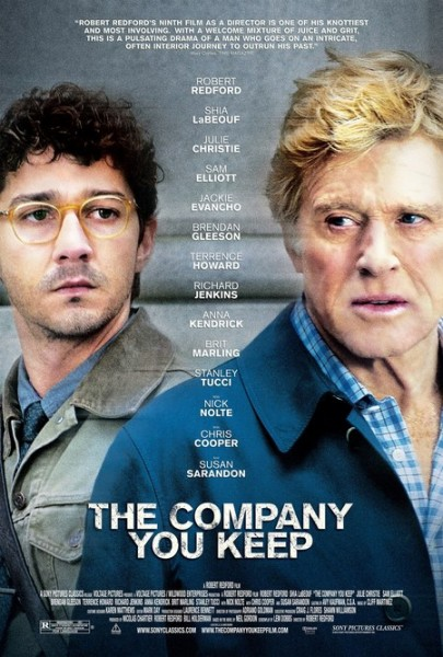 the company you keep poster shia labeouf robert redford
