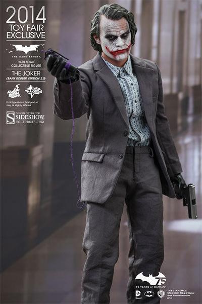 Joker The Dark Knight Heath Ledger 5 PCS Action Figure Gift Doll Keychain Toys