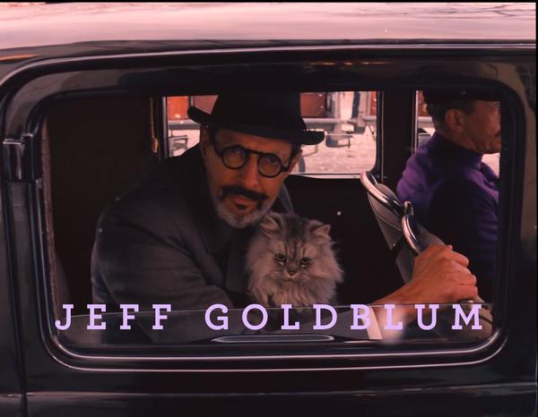 jeff goldblum the grand budapest hotel