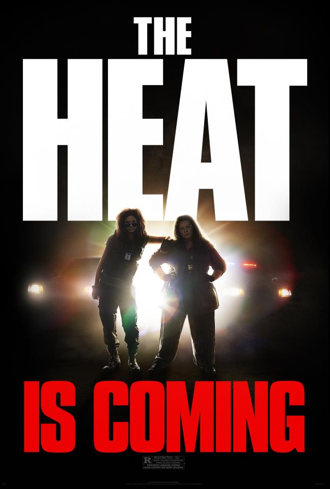 THE HEAT Clip and Poster. THE HEAT Stars Sandra Bullock and ...