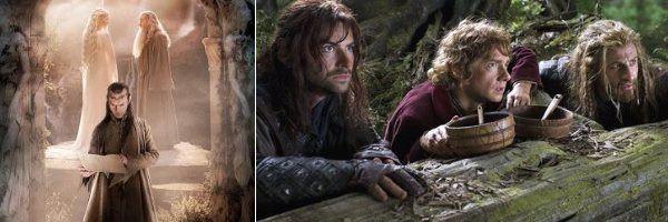 the hobbit hugo weaving martin freeman