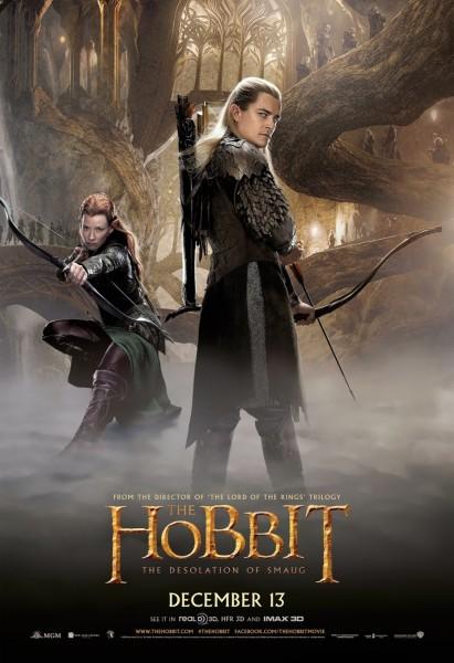 the-hobbit-poster-orlando-bloom-evangeline-lilly