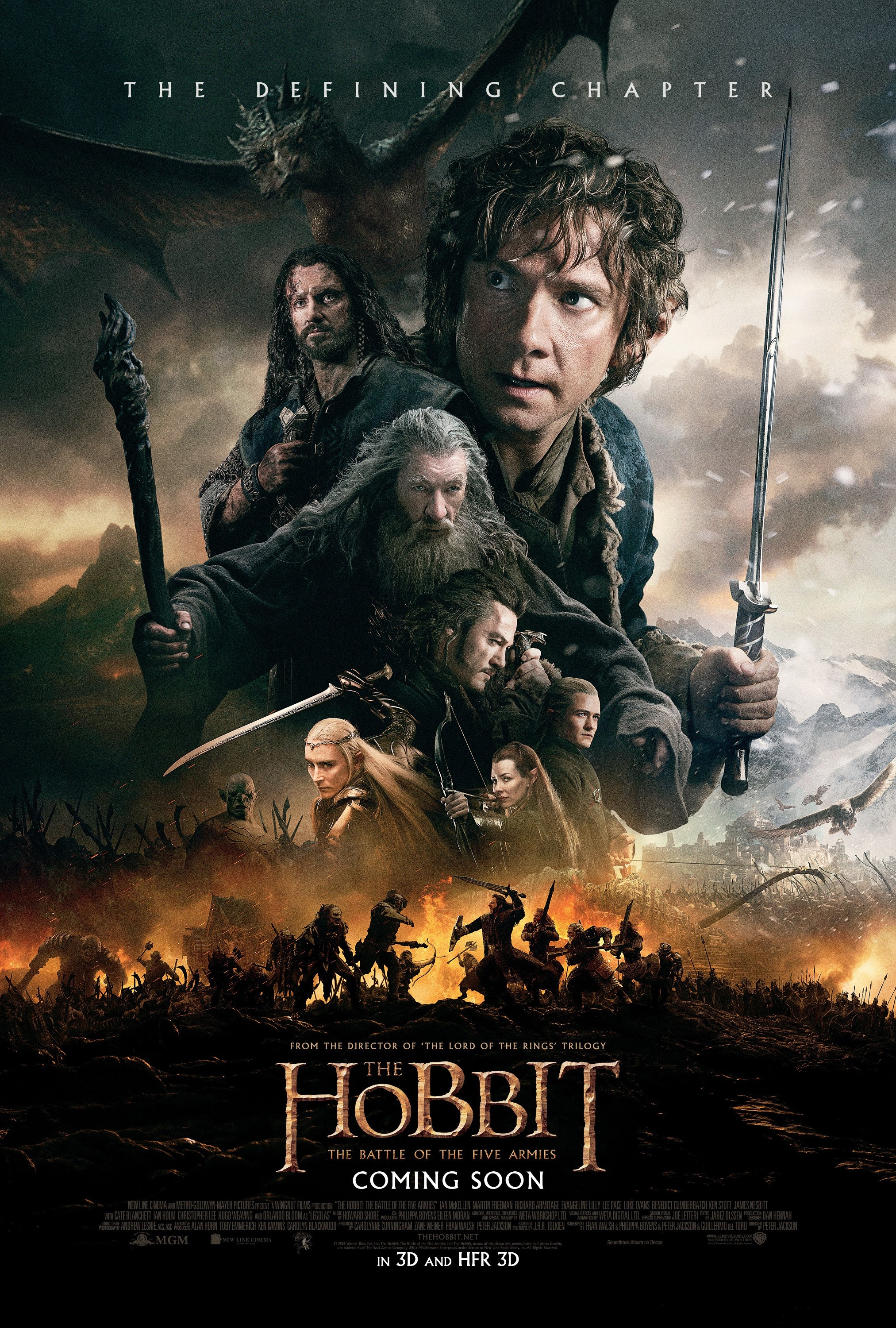 UPDATE: The Hobbit: The Battle of the Five Armies length | Hobbit ...