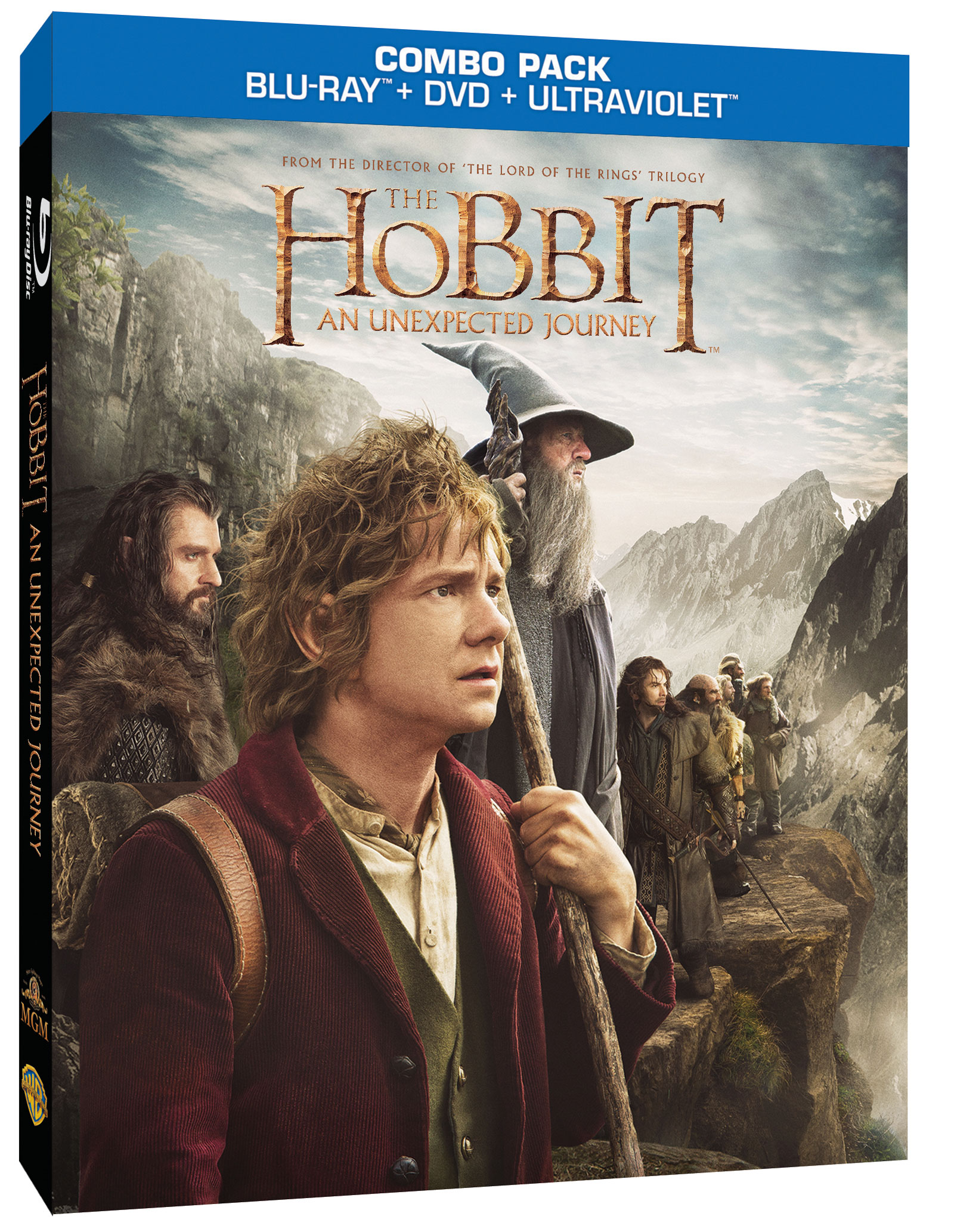 The hobbit an unexpected journey for download march 12th blu ray and