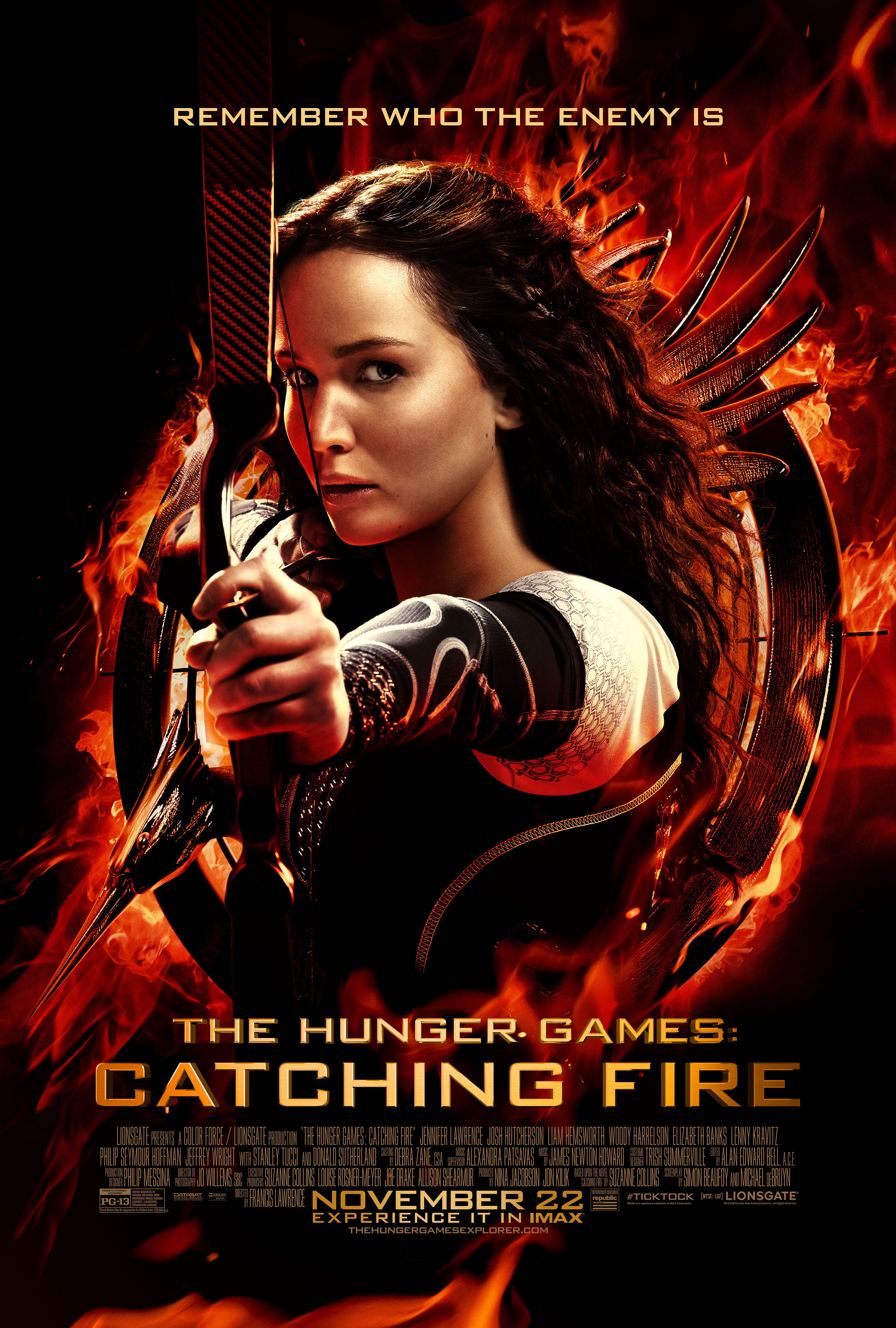the blaster blog collider the hunger games catching fire new tv spot and clip. Black Bedroom Furniture Sets. Home Design Ideas