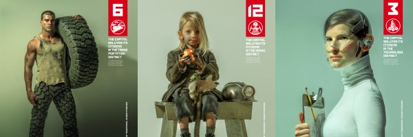 The Hunger Games Character Art Features District Heroes Collider