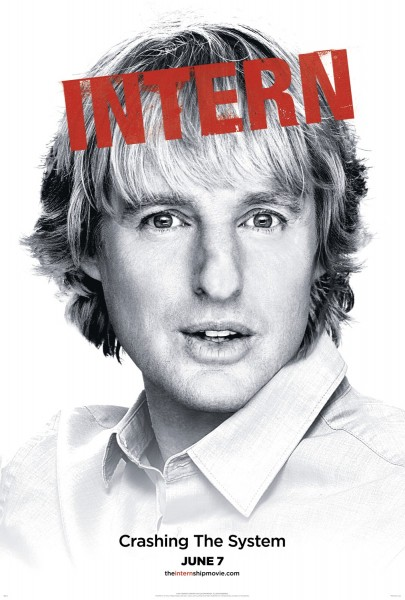 the internship poster owen wilson