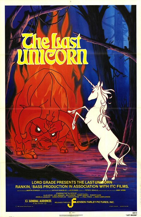 THE LAST UNICORN Blu-ray Review