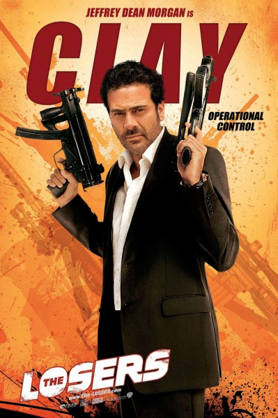The Losers movie poster Clay Jeffrey Dean Morgan
