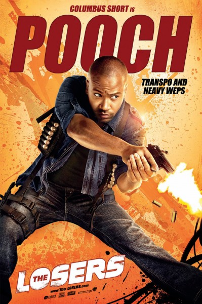 The Losers movie poster Pooch Columbus Short