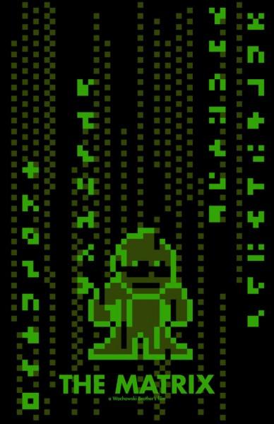 the-matrix-8-bit-poster