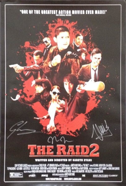 the-raid-2-signed-poster