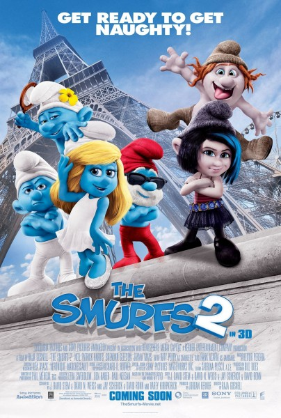 the smurfs 2 sequel poster