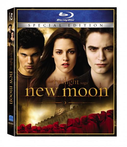 The Twilight Saga New Moon Blu-ray