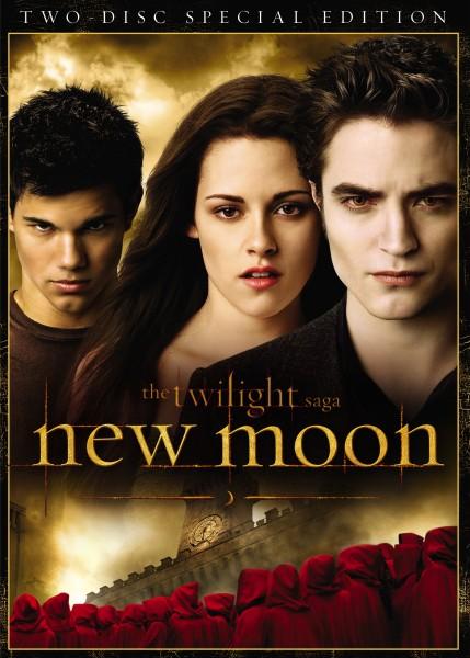 The Twilight Saga New Moon DVD