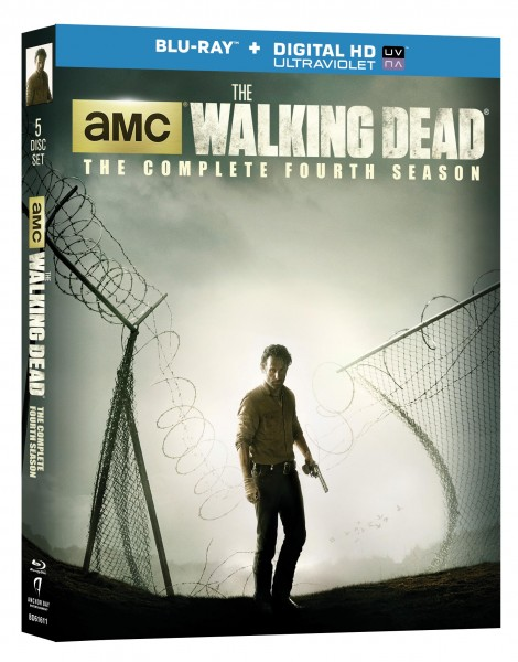 the walking dead season 4 blu ray cover