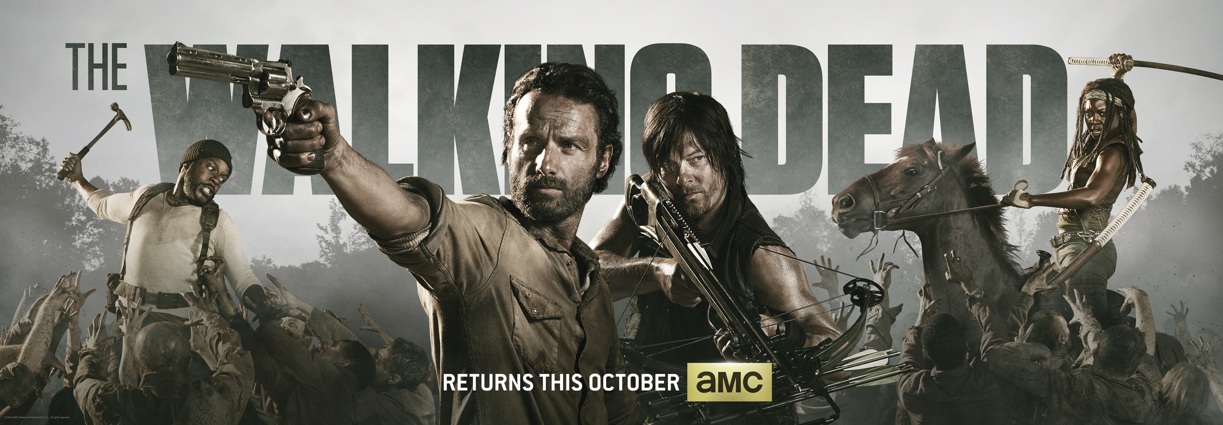 Comic-Con: THE WALKING DEAD Panel Recap and Season 4 Trailer; Cast and