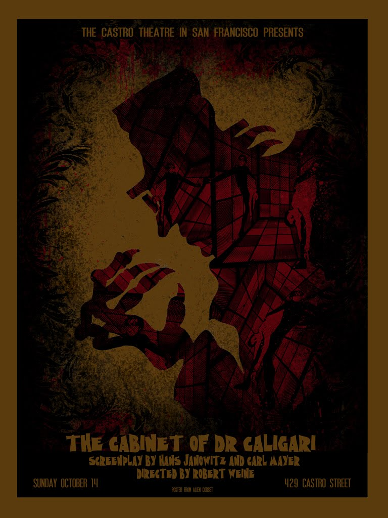 Amazing Posters by David O'Daniel for THE CABINET OF DR ...