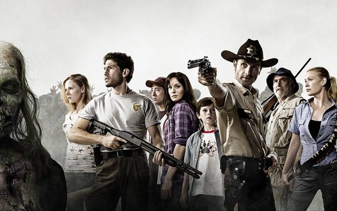 The Cast of AMCs The Walking Dead