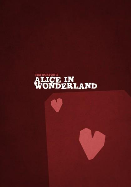 tim_burton_minimalist_poster_alice_in_wonderland