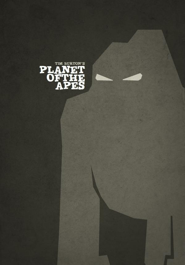 Tim Burton Minimalist Posters Films Collider