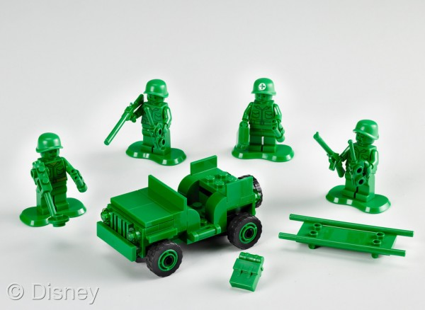 Toy Story Army Men On Patrol Lego