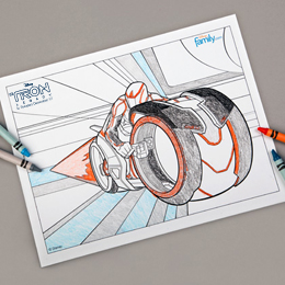 tron-legacy-coloring-page