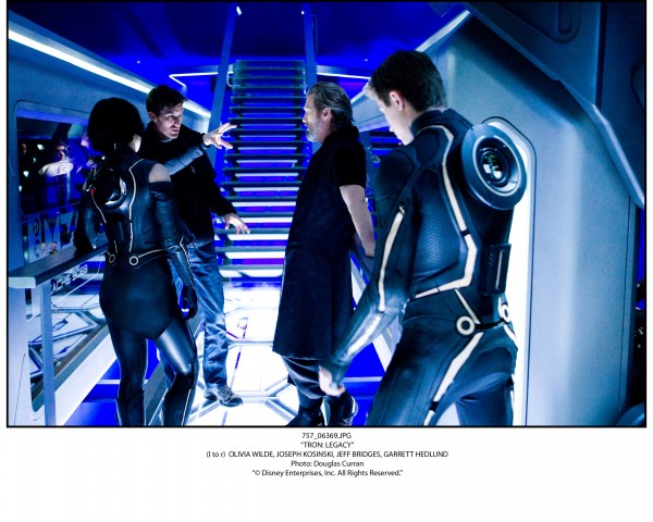 Tron Legacy movie image The End of the Line Club