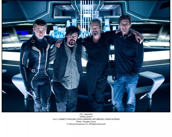 Tron Legacy movie image The End of the Line Club with director