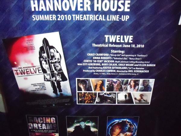 Twelve, Racing Dreams, The Wild Hunt, and Thru The Moebius Strip movie posters 2
