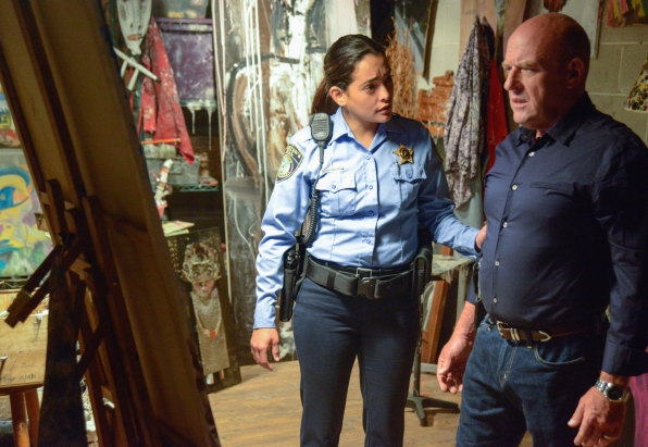 under the dome curtains dean norris natalie martinez