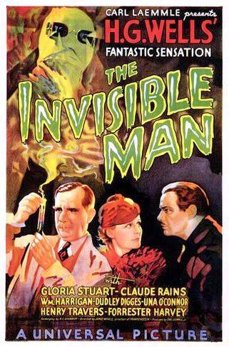 universal the invisible man poster