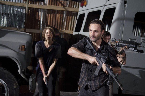 walking dead lauren cohan andrew lincoln