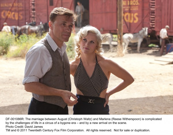 Water_For_Elephants_image Christoph Waltz and Reese Witherspoon