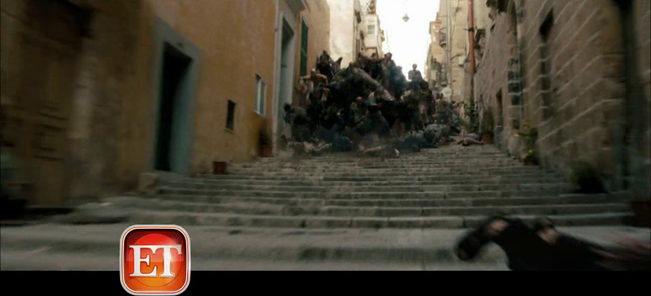 WORLD WAR Z Trailer Preview. WORLD WAR Z Stars Brad Pitt. | Collider