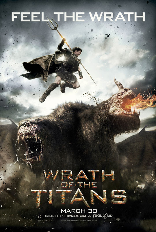 Whath of the Titans movie poster