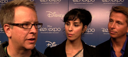 wreck-it-ralph-interview-Rich Moore, Sarah Silverman, Jack McBrayer slice