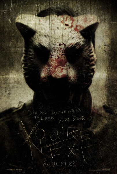 youre-next-wolf-mask-poster